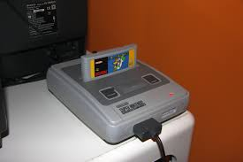Super Nintendo old console