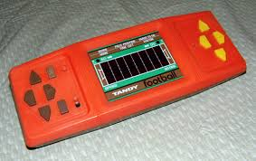 Vintage handheld electronic game